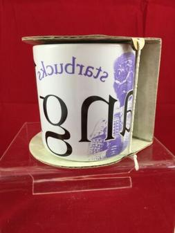 Starbucks Bangkok Thailand Purple Coffee Cup Collector Serie