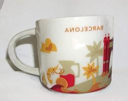 Starbucks Barcelona YAH Mug - You are Here - Coffee Cup - Es