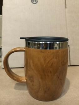 BARREL Double Wall Insulated Stainless Steel Mug with Lid 16