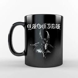Bathory Goat Black Coffee Mug Cup Viking Metal Band