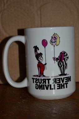 Beetlejuice coffee mug Never Trust the Living Large 15oz Mug