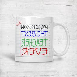 Best Ever Appreciation Teacher Mugs Cup Mug Thank You Gift C