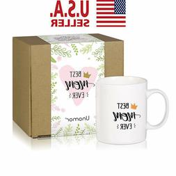Best Mom Funny Coffee Mug for Mother's Day Christmas Lovely
