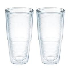 Tervis 24 oz. Big T Clear Tumbler.  Pack