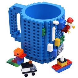 - KYONNE Build-on Brick Mug, Novelty Building Blocks Coffee