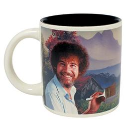 Bob Ross Heat Changing Mug - Add Coffee or Tea and a Happy L