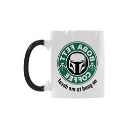Boba Fett's Coffee Coffee Mug Morphing Mugs Ceramic Material