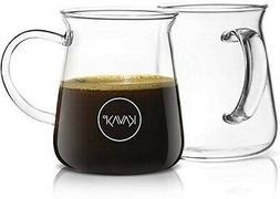 Borosilicate Glass Coffee Mugs Thermal Shock Proof - Condens