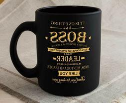 Boss Coffee Mug - Best Gifts for Boss - Funny Birthday Gift