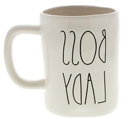 Rae Dunn by Magenta BOSS LADY Ceramic LL Coffee Mug