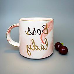 Vilight Boss Lady Mugs Pink - Best Gift for Women Boss Mom 2