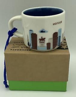 Starbucks Boston You Are Here Collection Ornament Mini Mug 2