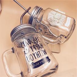 Abay BPA-free 24 Options Mason Jar <font><b>Mugs</b></font>