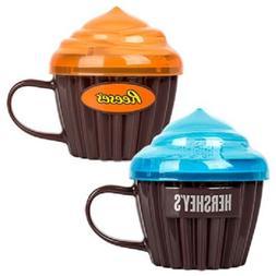 BPA Free Microwave 5-Minute Lava Cake Mugs with Lids 2 Varie