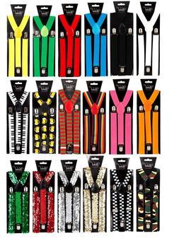 BRACES Adjustable Unisex Mens Womans All Colours including R
