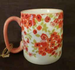 10 Strawberry Street Brand  Flower Pattern Ceramic Coffee Cu