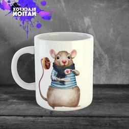 Breastfed Cofee Funny Ceramic Mugs Home Kitchen Tea Mug Mous