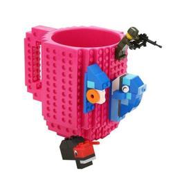 Brick Mugs 12 oz Coffee Cups Tea Mug Beverage Cup Built-on B