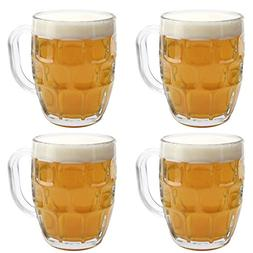 British Pub Imperial Pint Dimple Glass. Set of 4