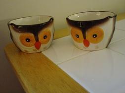 Brown Owl Coffee Tea Mug Cup Earthenware Ceramic bakeware 8