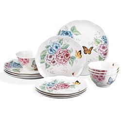 Lenox Butterfly Meadow Hydrangea Collection 12-Pc. Dinnerwar