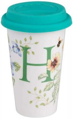 Lenox Butterfly Meadow Thermal Travel Mug, H