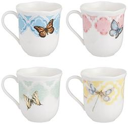 Lenox® Butterfly Meadow® Trellis Set of 4 Mugs