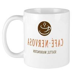CafePress Café Nervosa Mugs 11 oz Ceramic Mug