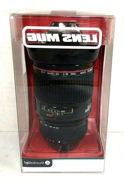 Thumbs Up Camera Lens Drinking Cup Mug with Lid