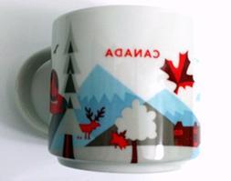 New Starbucks Canada 2015 Coffee Mug You Are Here Leaf Quebe