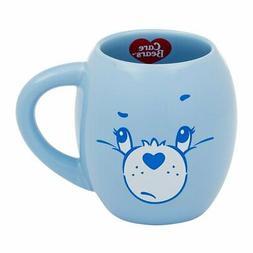 Vandor Care Bears Grumpy Bear 18 Ounce Oval Ceramic Mug
