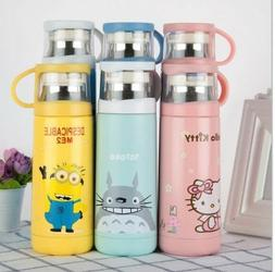 Cartoon Thermos Stainless Steel Vacuum Flask Cup For Kids 35