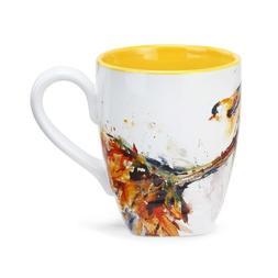 Big Sky Carvers Finch Mug, 16-Ounce, Multicolor