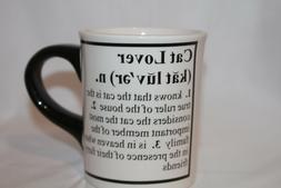 Tumbleweed Pottery Cat Lover Definition Coffee Mug Tea Cup C