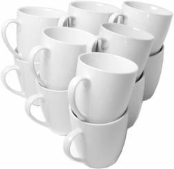10 Strawberry Street CATERING-12-MUG-W Catering Mug Set, Whi