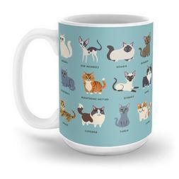 Society6 Cats! Mug 15 oz