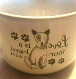 Ceramic 22 Oz Mug Large Love Is A Four Legged Word Coffee Cu