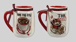 Youngs Ceramic Cocoa Mug
