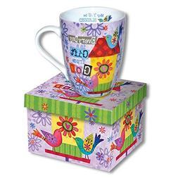 Beautiful Ceramic Coffee Cup - MUG with SCRIPTURE - Every Da
