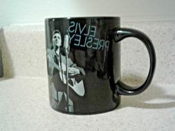 Ceramic Coffee mug by Vandor LLC. Elvis Presley. Black. Hot/