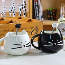 Ceramic Cute Cat <font><b>Mugs</b></font> <font><b>With</b><