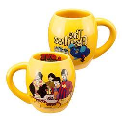 Ceramic Mug Vandor The Beatles Yellow Submarine Design 18 Oz