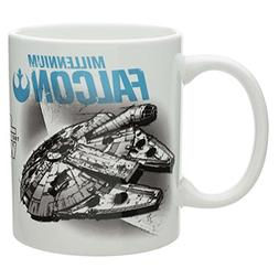 Zak! Designs Ceramic Mug Featuring Space Ship Graphics from