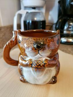 Ceramic Squirrel Coffee Mug Cup