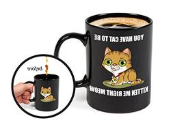 BigMouth Inc Color Changing Kitten Mystery Mug