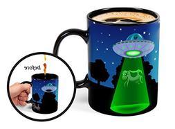 BigMouth Inc Color Changing UFO Mystery Mug