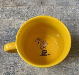 Charlie Brown Large Yellow Mug Peanuts Gang 2016 Light Bulb