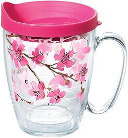 Tervis 16 oz. Cherry Blossom Travel Mug 16 oz. Mug Pink