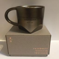 Starbucks CHICAGO Reserve Roastery 8oz Bevel Mug DarkEXCLUSI