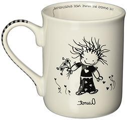 Enesco Children of the Inner Light Aunt Stoneware Gift Mug,